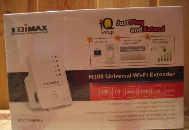 Роутер 300Mbps фирмы Edimax