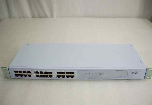 Сетевое оборудование hp/3com