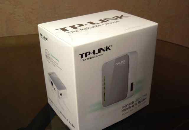 Wi-Fi роутер с поддержкой 3G модема Tp link 3020