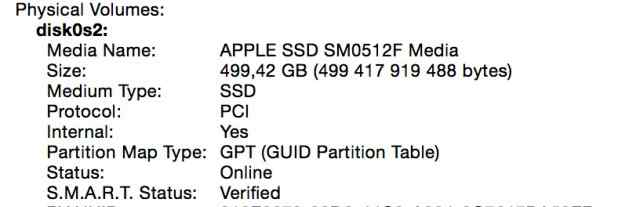 Apple MacBook Pro Retina 13 Late 2013 512GB SSD
