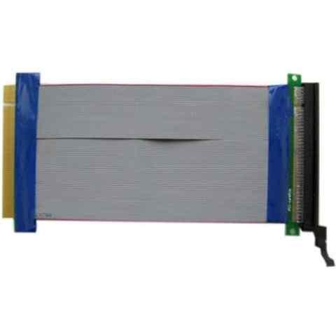 Удлинитель PCI-E x16 Male to PCI-E x16 Female 18см