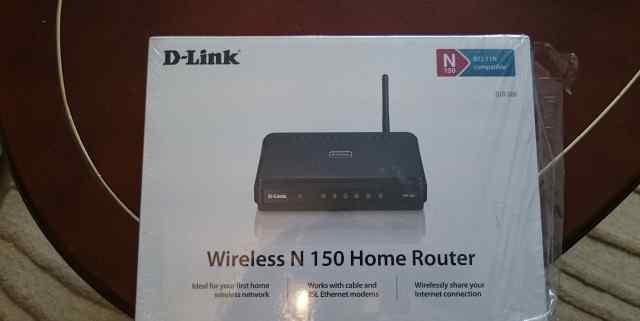 Роутер D-Link N 150 Dir 300