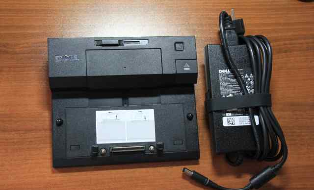 Докстанция Dell PR03X с блоком питания