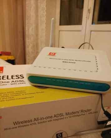 Adsl 2/2+ модем роутер Compex WRL254G
