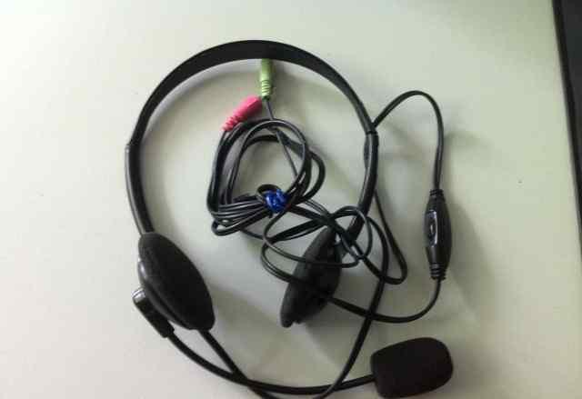 Наушники с диктофоном