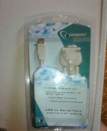 Gembird usb to com cable
