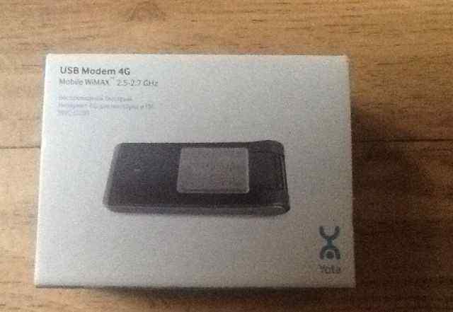 Модем wimax 4G старого образца
