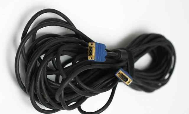 VGA кабель (папа-папа) 20 метров