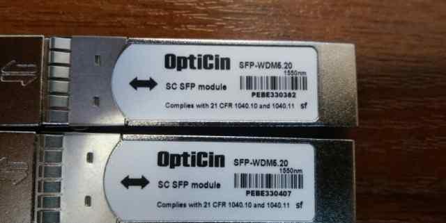 Оптический модуль OptiCin SFP-WDM одноволоконный