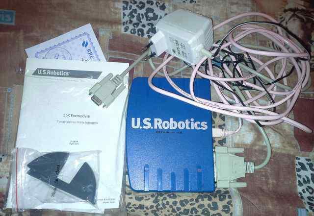Факс-модем U. S. Robotics 56К