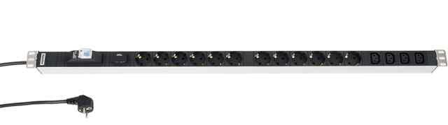 Блок розеток SHT-12SH-4IEC-BF-2.5EU Hyperline