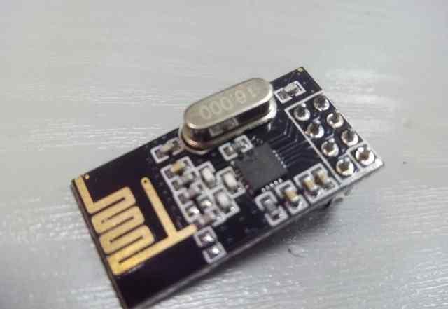 Радио модуль Nrf24l01 2.4GHz для arduino