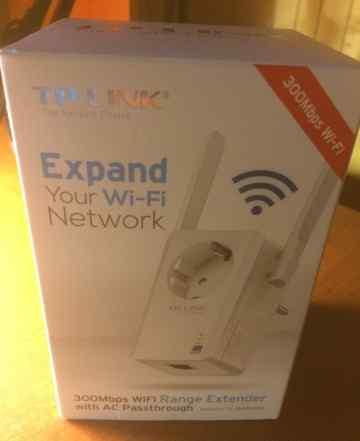 TP-Link TL-WA860RE 300мбит/с, усилитель Wi-Fi