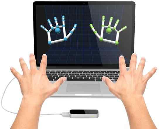 Leap Motion Controller - управление жестами