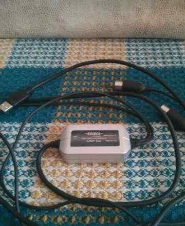 USB/midi интерфейс edirol UM-1EX