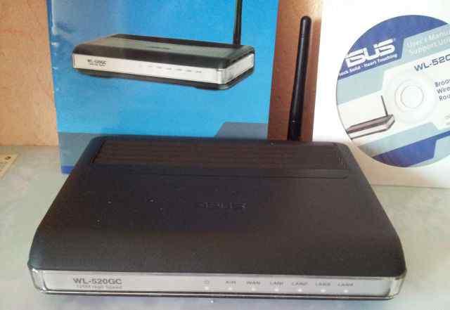 WiFi-роутер asus WL-520GC
