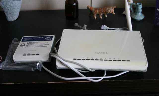 Интернет-центр Zyxel P660HWP EE