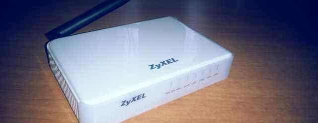 Роутер Zyxel P-330W-EE