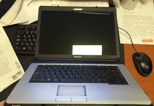 Ноутбук тошиба сателлит L300D-10U