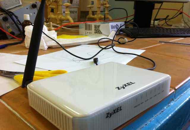 Zyxel P-330W EE wifi-роутер идеальное состояние