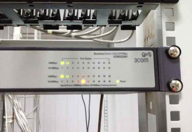Коммутатор HP V1910-16G Switch, JE005A
