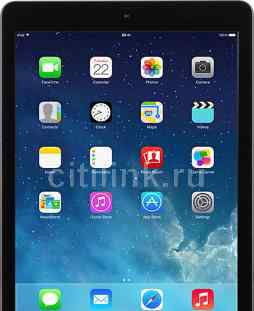 iPad Air 2 16 Гиг, Wi-Fi, серый + чехол