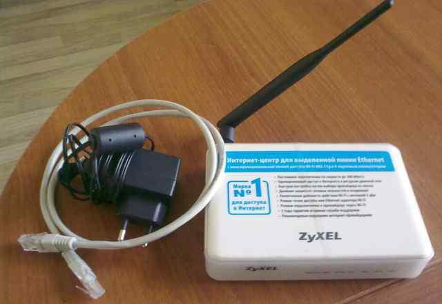 Zyxel P-330W EE wifi