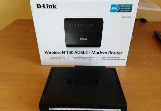 Adsl модем D-link DSL-2640U
