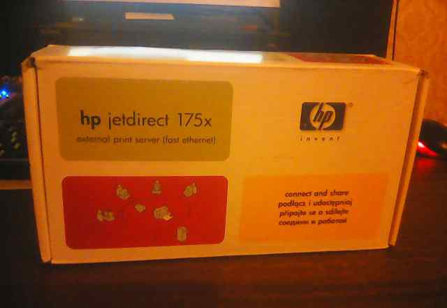 Принт-сервер HP JetDirect 175x (J6035D) External