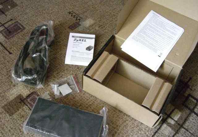 Инжектор zyxel PoE12-HP