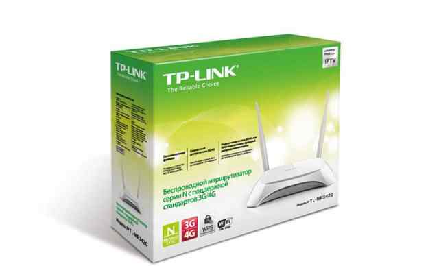 Роутер wifi TP-link TL-MR3420