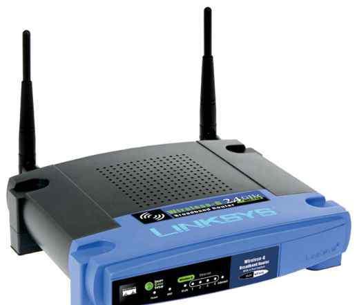 Роутер Wi-Fi Linksys WRT54GL (б/у)