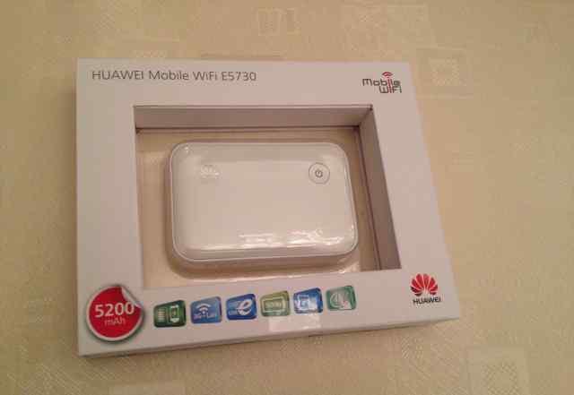 Мобильный 3G/Wi-Fi маршрутизатор Huawei E5730