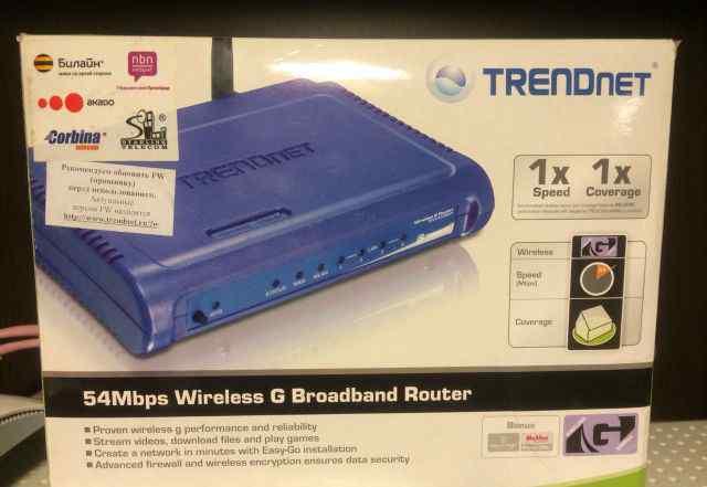 Маршрутизатор Акадо trendnet TEW-432BRP