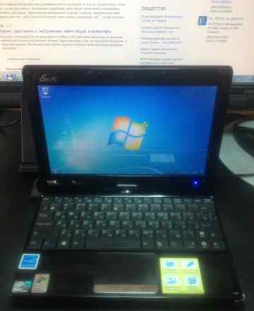 Asus Eee PC T91 сенсорный экран