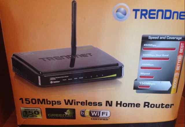 Trendnet TEW651BR 150 mbit Wi-Fi роутер