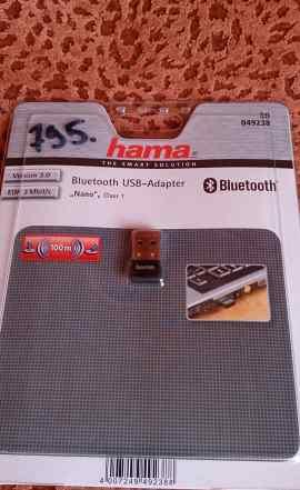 Bluetooth адаптер hama V3.0 class 1 (100м)