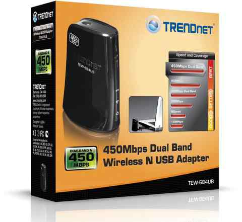 WI-FI Адаптер TEW 684UB Trendnet