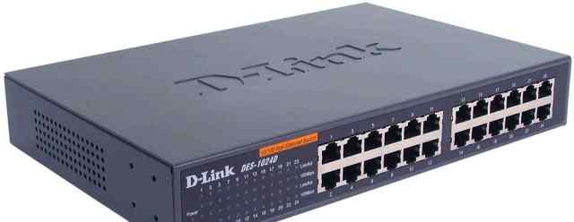 D-Link DES-1024D коммутатор/switch, 24 порта