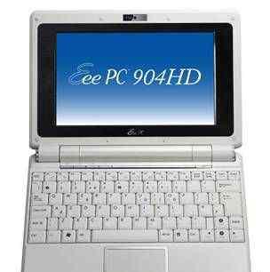 Нетбук Asus Eee PC 904HD White