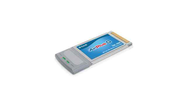 Беспроводной CardBus-адаптер D-Link DWL-G630