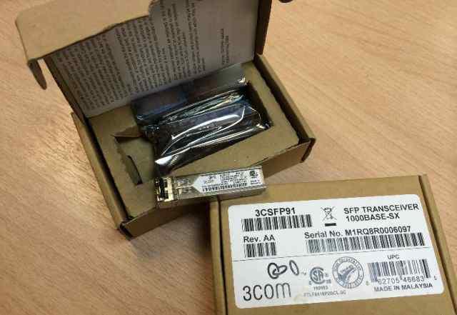 Трансивер 3Com 3csfp91 SFP Transceiver 1000base-SX