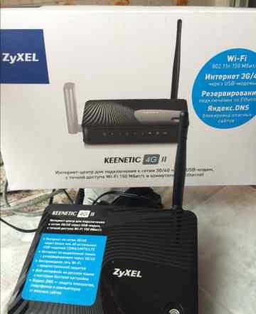 4G II keenetic интернет-центр