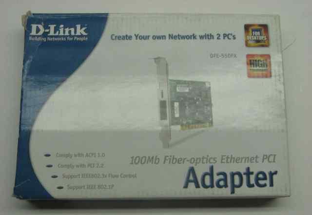 Сетевая карта D-Link DFE-550FX