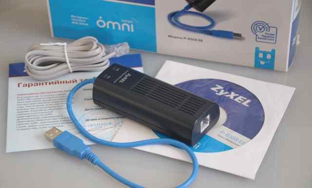 Adsl USB модем ZyXel P-630S EE