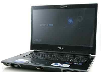 Asus W90, игровой ноутбук