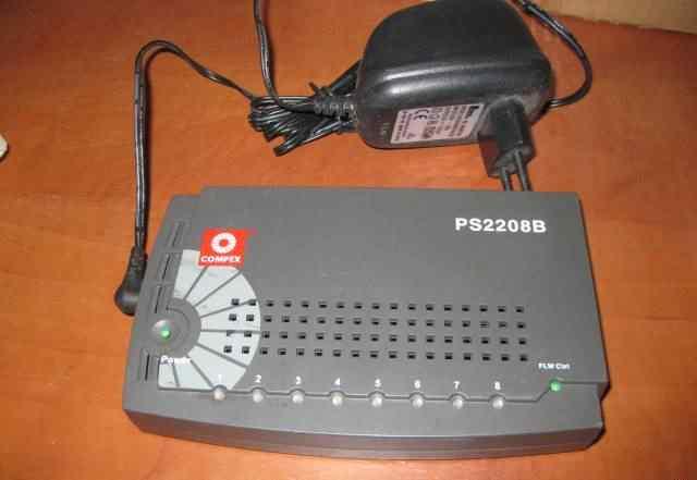 Портативный коммутатор Compex PS2208