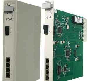 Мультиплексор Schmid Telecom FO-4E1E