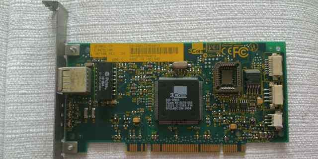 Сетевой адаптер 3Com network ethernet card 3C905C