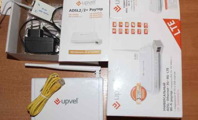 Wi-Fi Роутер (модем) Upvel UR-344AN4G+